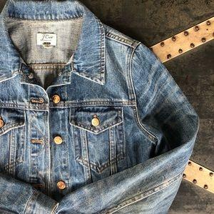 Like New J. Crew Classic Denim Jacket
